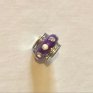 🆕Listing! Brighton purple bead with crystals